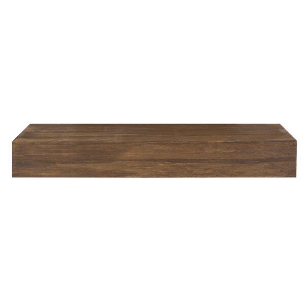 Modern Contemporary Teak Floating Shelf Allmodern