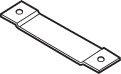 10 H x 1.25 Butt/Ball Bearing Single Hinge Reinforcement by DON-JO MFG INC.