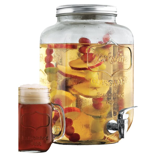 Mason Jar Beverage Dispenser by Wine Enthusiast