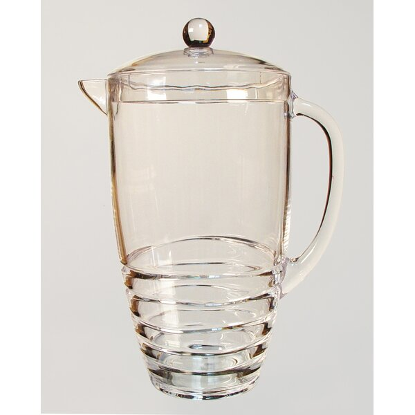 Swirl 2.75-qt. Pitcher by LeadingWare Group, Inc