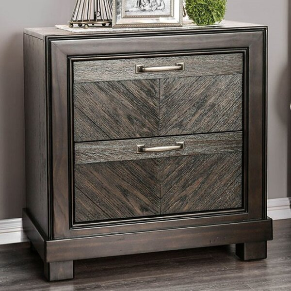 Raelyn 2 Drawer Nightstand by Foundry Select