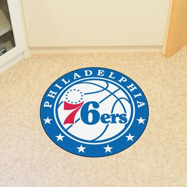 NBA Philadelphia 76ers Roundel Mat by FANMATS