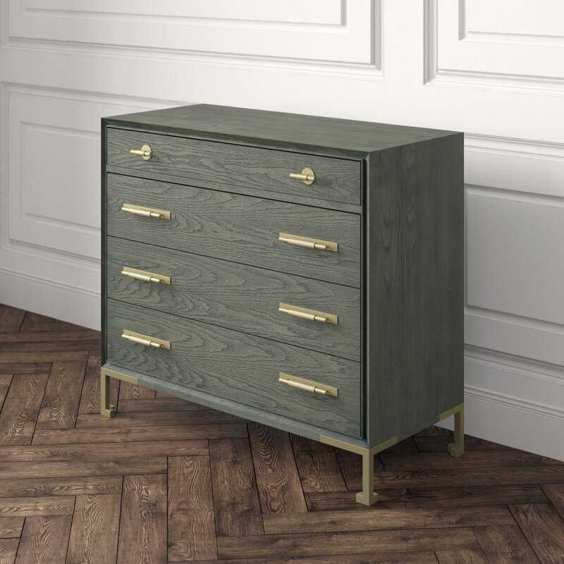 Lillian August Julien 4 Drawer Dresser Perigold