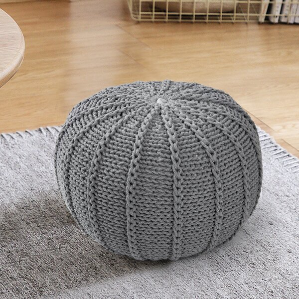 Bare Pouf by Bungalow Rose