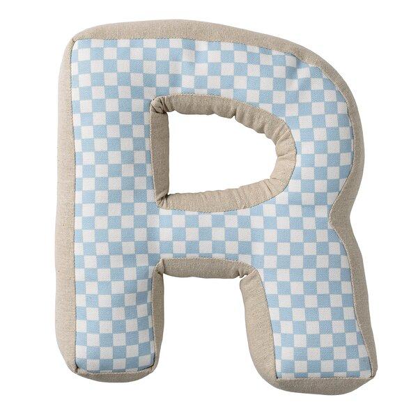 Randal R with Pattern Cotton Pillow by Viv + Rae