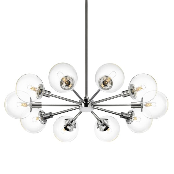 Cohen 10 - Light Sputnik Sphere Chandelier By Brayden Studio