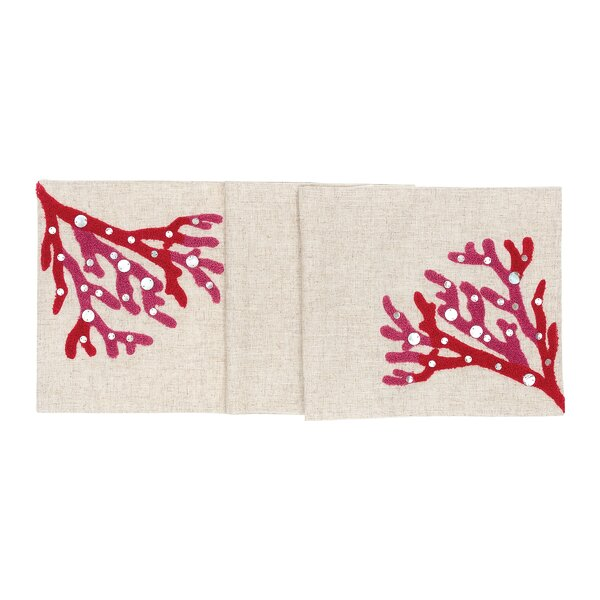 Hales Reef Table Runner by Highland Dunes