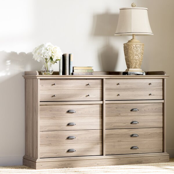Bowerbank Chester 6 Drawer Double Dresser by Beachcrest Home