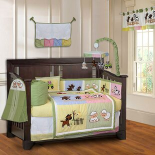 Order Simpkins Barnyard Farm Baby 10 Piece Crib Bedding Set By Harriet Bee