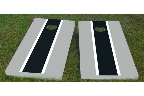 Raiders Cornhole Game (Set of 2) by Custom Cornhole Boards