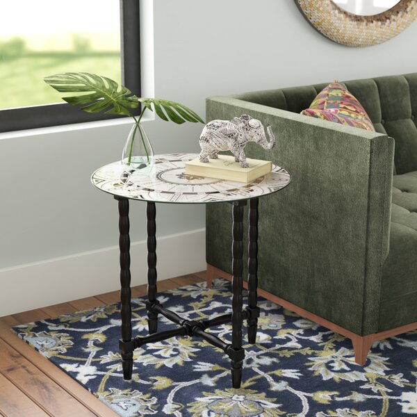 Wales End Table by Bungalow Rose