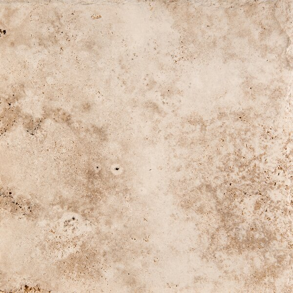 Travertine 18 x 18 Filled and Honed Field Tile in Vanilla Coffee by Emser Tile