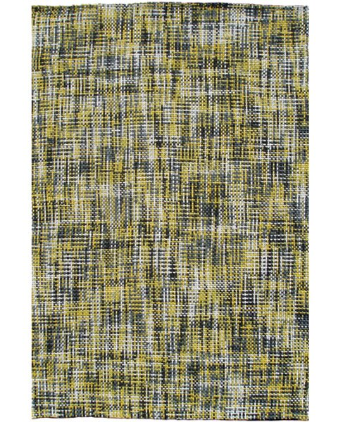 Handmade Yellow Area Rug by Park Avenue Rugs