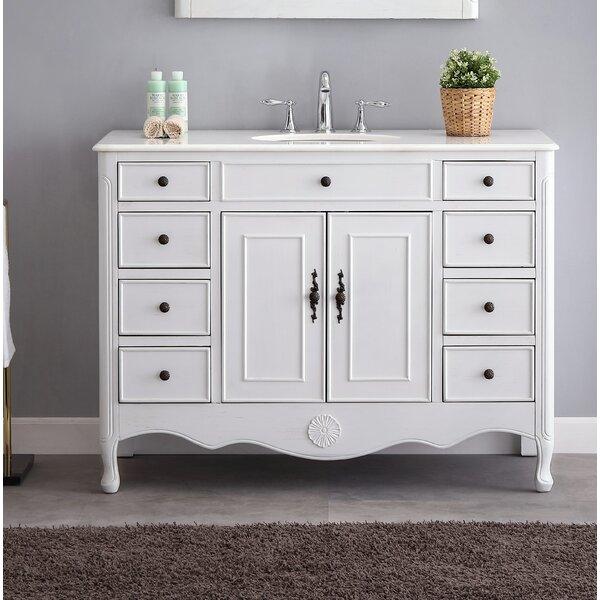 Genevieve 47 Single Bathroom Vanity Set