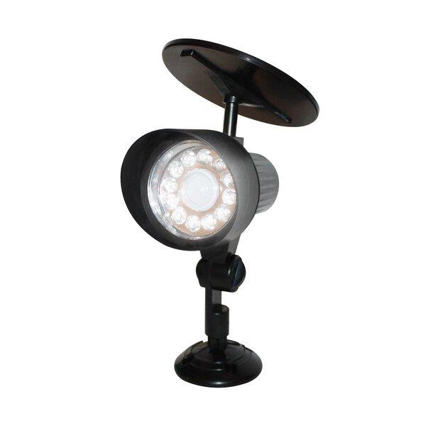 Motion Sensor Solar 12-Light LED Spot Light by EcoThink™