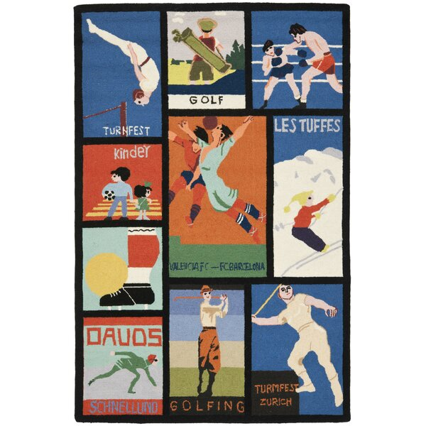 Vintage Posters Novelty Rug by Safavieh