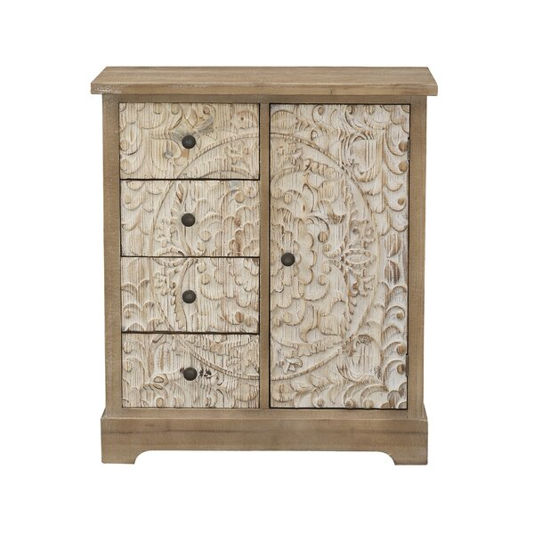 Calidia 1 Door Accent Cabinet by Bungalow Rose