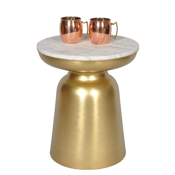 Luxe End Table by Fashion N You by Horizon Interseas