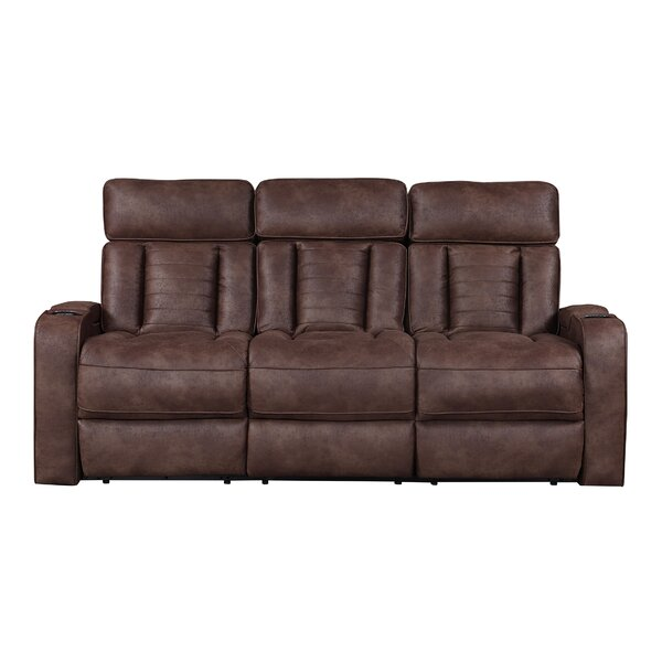 Nafisa Reclining Sofa By Ebern Designs