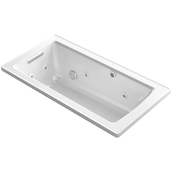 Archer Drop-in Whirlpool and BubbleMassage™ Air Bath by Kohler