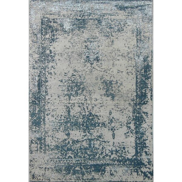Silver Area Rug by YumanMod