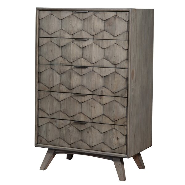 Leana 5 Drawer Chest by Ivy Bronx