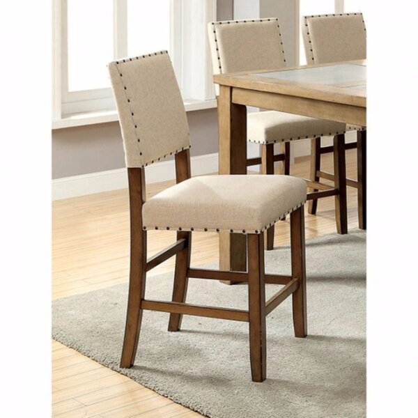 Wanda Industrial Upholstered Dining Chair by Gracie Oaks