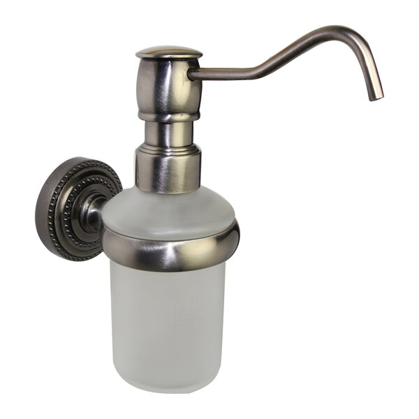 Dottingham Wall Mounted Soap Dispenser by Allied Brass