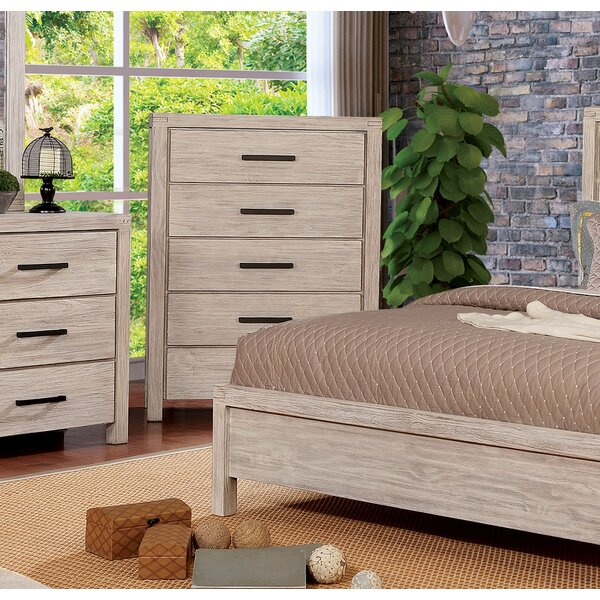 Mcmillion 5 Drawer Chest by Gracie Oaks
