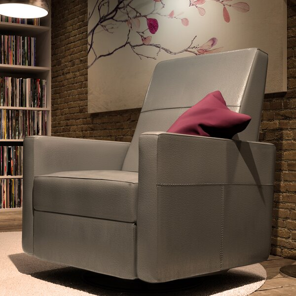 Minho Reclining Swivel Glider by Dutailier