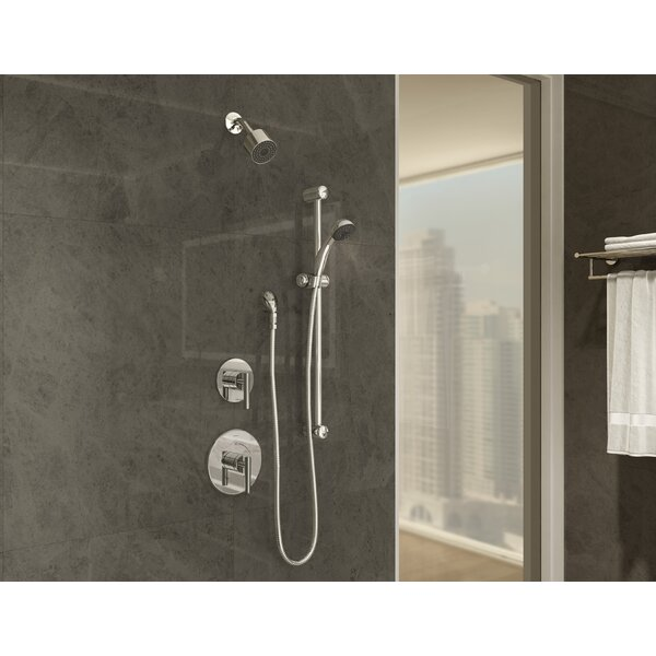 Dia Pressure Balance Tub/Hand Shower Trim With Lever Handle By Symmons