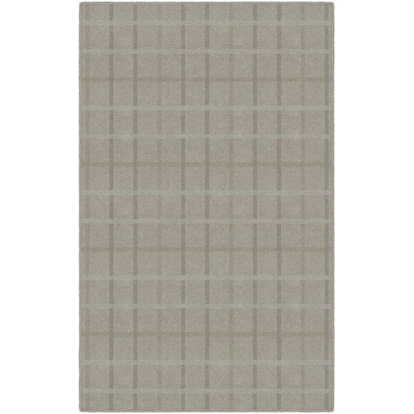 Myra Muted Plaid Brown Area Rug by Gracie Oaks
