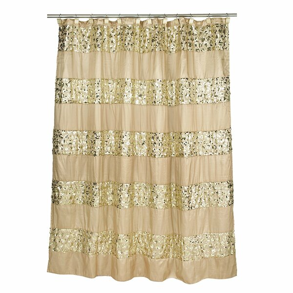 Latrobe Bath Bedazzled Bling Shower Curtain by House of Hampton
