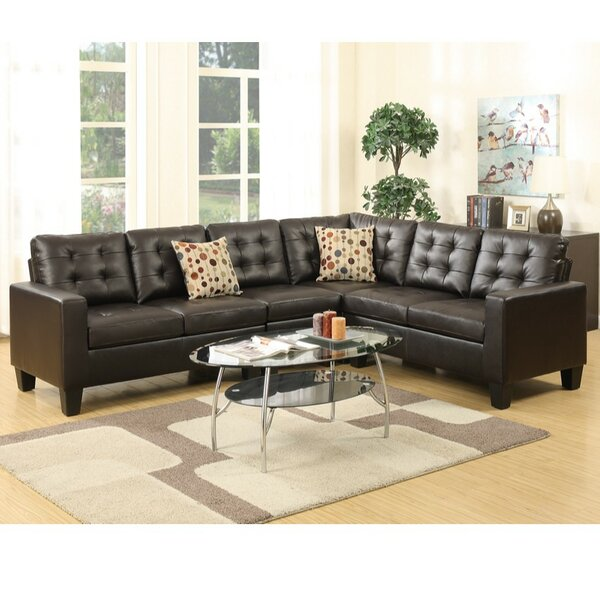 Lagarde Right Hand Facing Modular Sectional By Alcott Hill