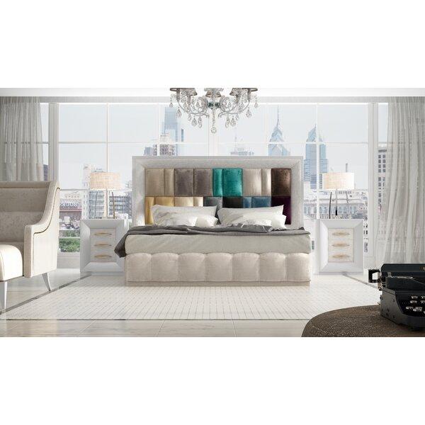 Jerri Standard 3 Piece Bedroom Set By Everly Quinn by Everly Quinn Modern