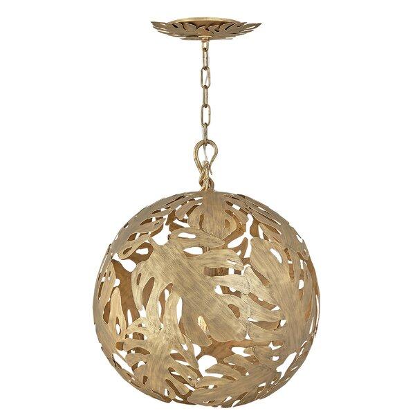 Botanica 6 - Light Unique / Statement Sphere Chandelier By Fredrick Ramond