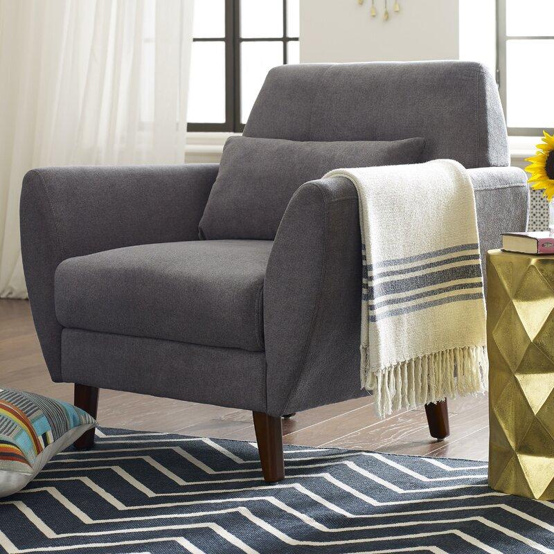 Perfect Amelie Mid Century Modern Armchair
