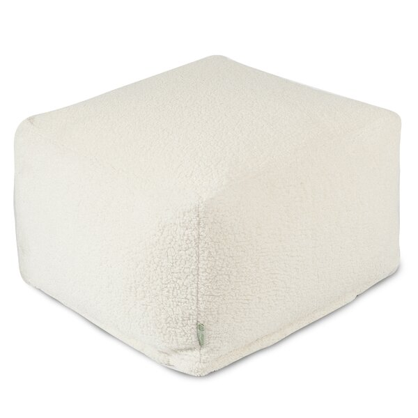 Solid Pouf by Majestic Home Goods