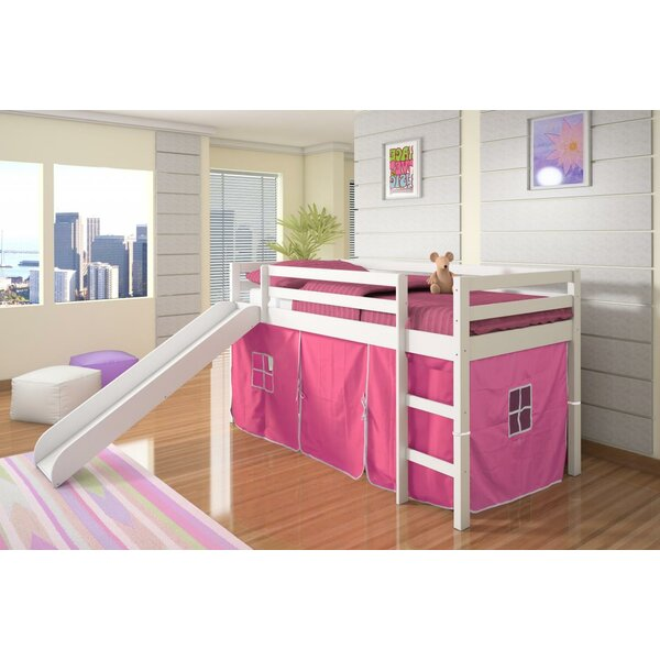 Ogden Tent Twin Low Loft Bed by Harriet Bee