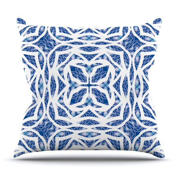 Explosion by Miranda Mol Outdoor Throw Pillow by East Urban Home