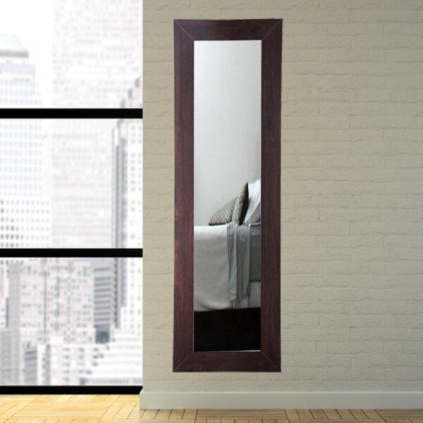 BrandtWorksLLC Designers Choice Walnut Tall Floor Mirror | Wayfair