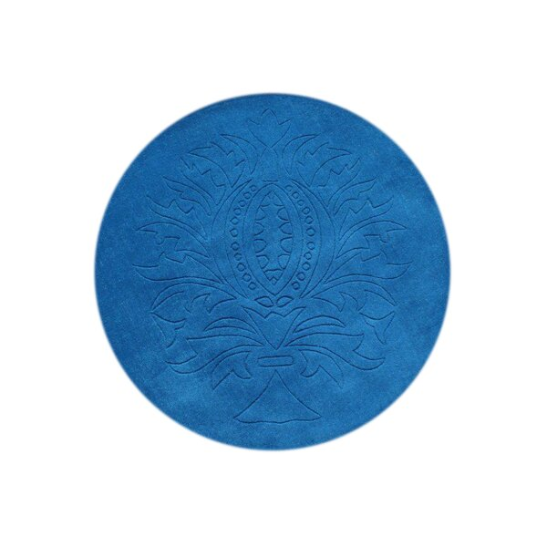 Buhl Hand-Tufted Blue Area Rug by The Conestoga Trading Co.