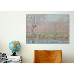 'Le Saule' by Claude Monet Painting Print on Canvas by Charlton Home