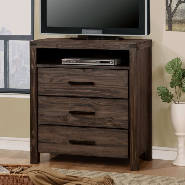 Kensett 3 Drawer Chest by Loon Peak