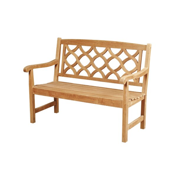 Bamburgh Teak Garden Bench by Darby Home Co