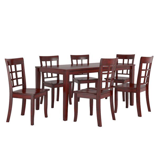 Alverson 7 Piece Dining Set by August Grove