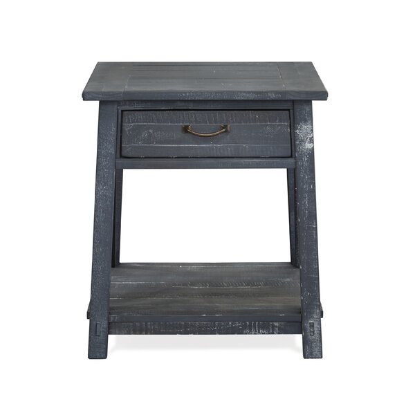 Daria End Table with Storage by Gracie Oaks