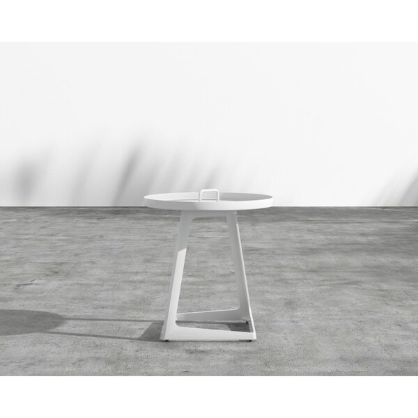 Cochran Aluminum Side Table by Brayden Studio