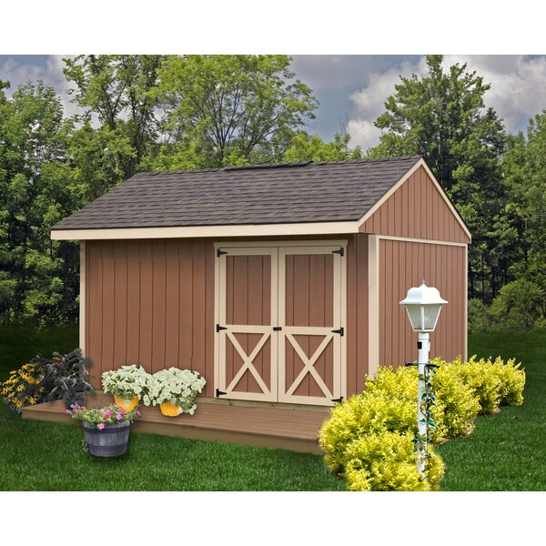 Northwood 10 ft. W x 14 ft. D Solid Wood Storage Shed by Best Barns