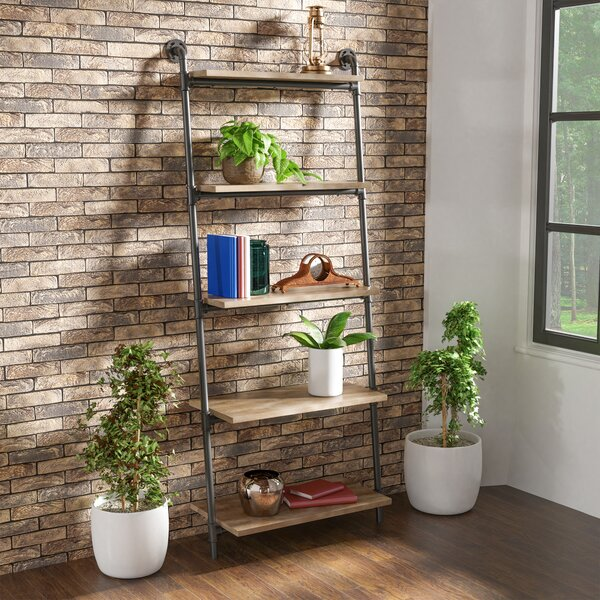 17 Stories Leaning Bookcases